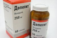 Таблетки Допегит от давления: правила применения
