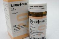 Таблетки от давления Кордафлекс: инструкция по применению, отзывы