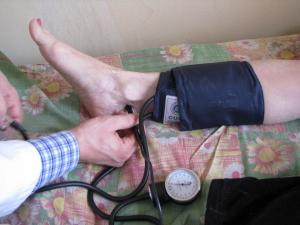 Как правильно измерить давление на ноге