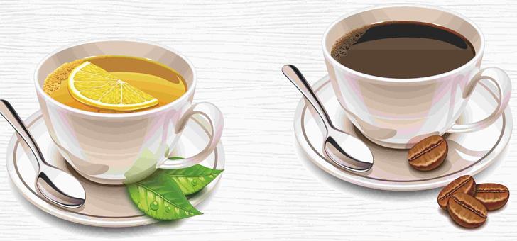 Что пить при повышенном давлении: чай или кофе