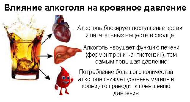Водка при гипертонии: повышает или понижает давление