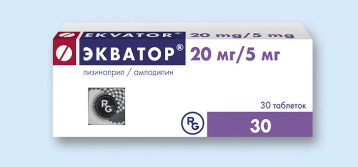 Таблетки Экватор для нормализации артериального давления