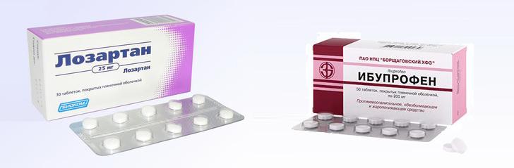 Таблетки от давления Лозартан: инструкция по применению, отзывы