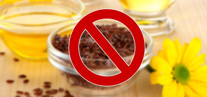 Льняное масло от давления: как принимать, противопоказания
