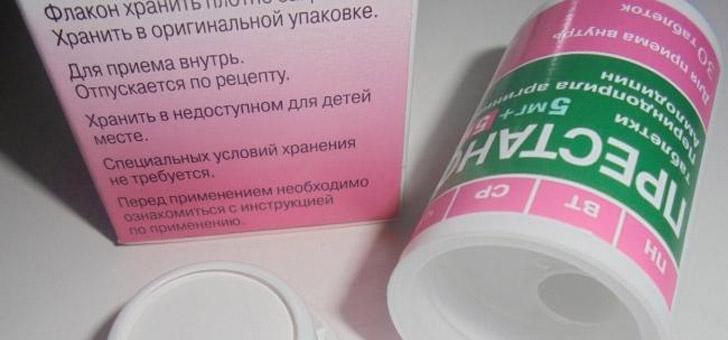 Таблетки Престанс: инструкция по применению, при каком давлении