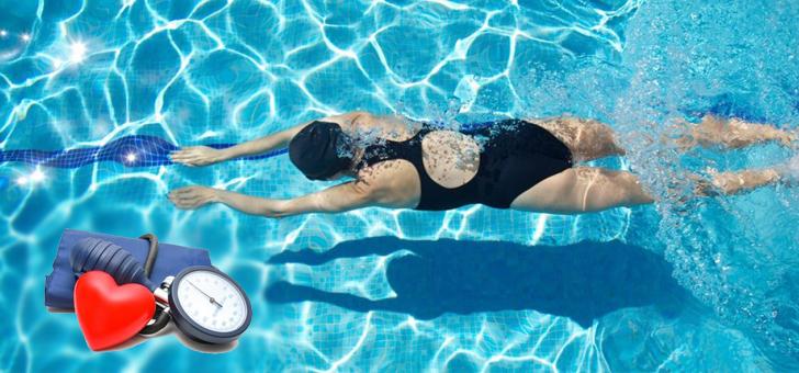 plavanie pri gipertonii - Renang tekanan