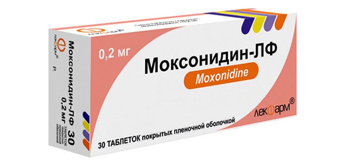 Моксонидин: инструкция по применению, при каком давлении