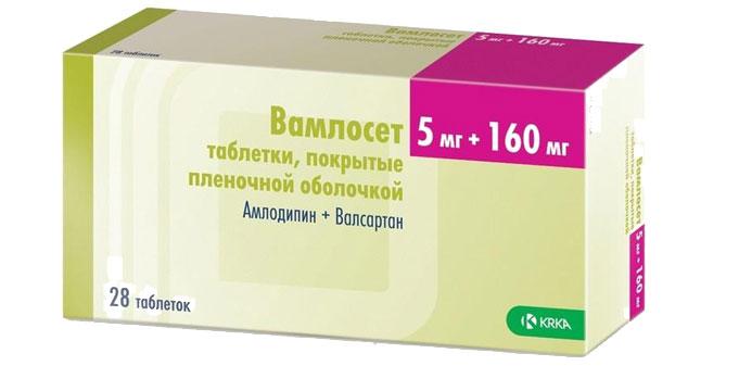 Vamloset - Таблети за притисок Vamloset упатства за употреба, под кој притисок