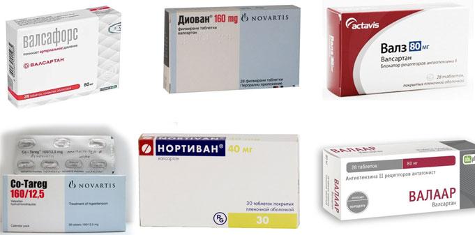 Таблетки от давления Вальсакор: отзывы, инструкция