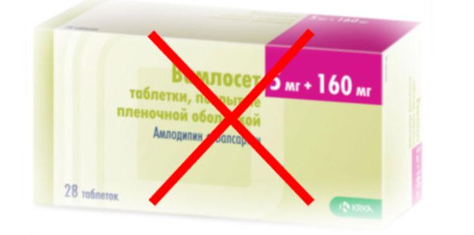 Лекарство от давления Вамлосет: инструкция по применению, отзывы