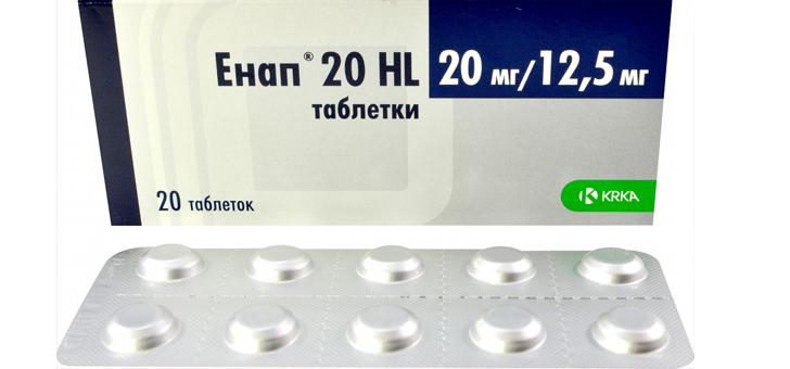 Таблетки Энап Н: инструкция по применению, цена и отзывы