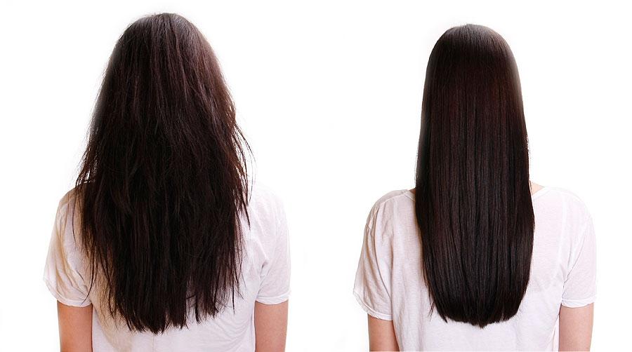 Разглаживание волос