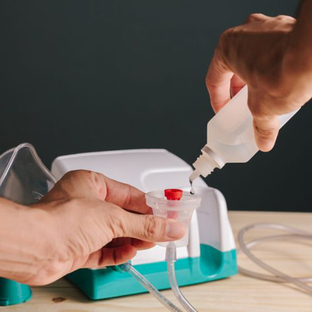 Препараты для ингаляции: какие растворы применяются в небулайзерах?